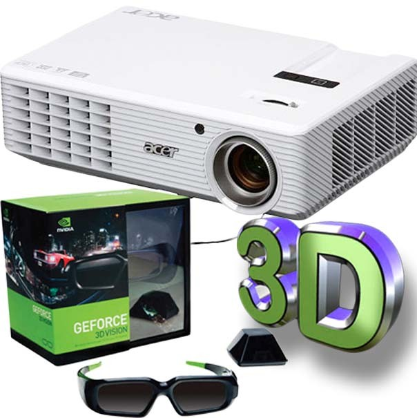 Proyecto Acer H5360 + nvidia vision 3d kit