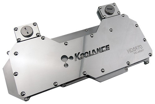 Koolance Water Block VID-AR597 (Radeon HD 5970) for ATI graphic cards